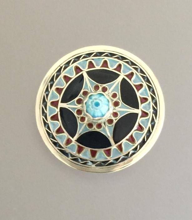 Creature's Eye Lid with Center Milifiori