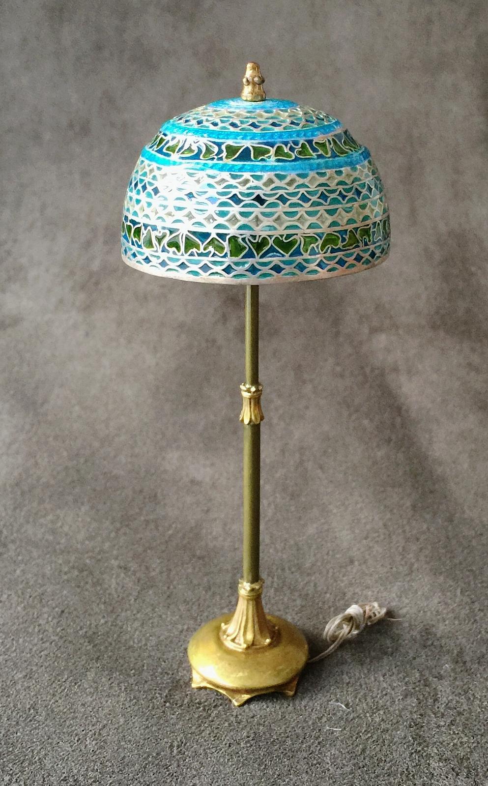 Silver Dome Lamp