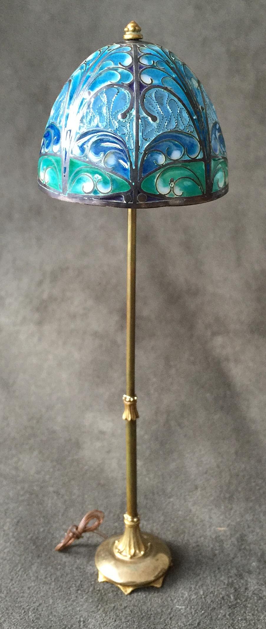 KC Fountains Floor Lamp