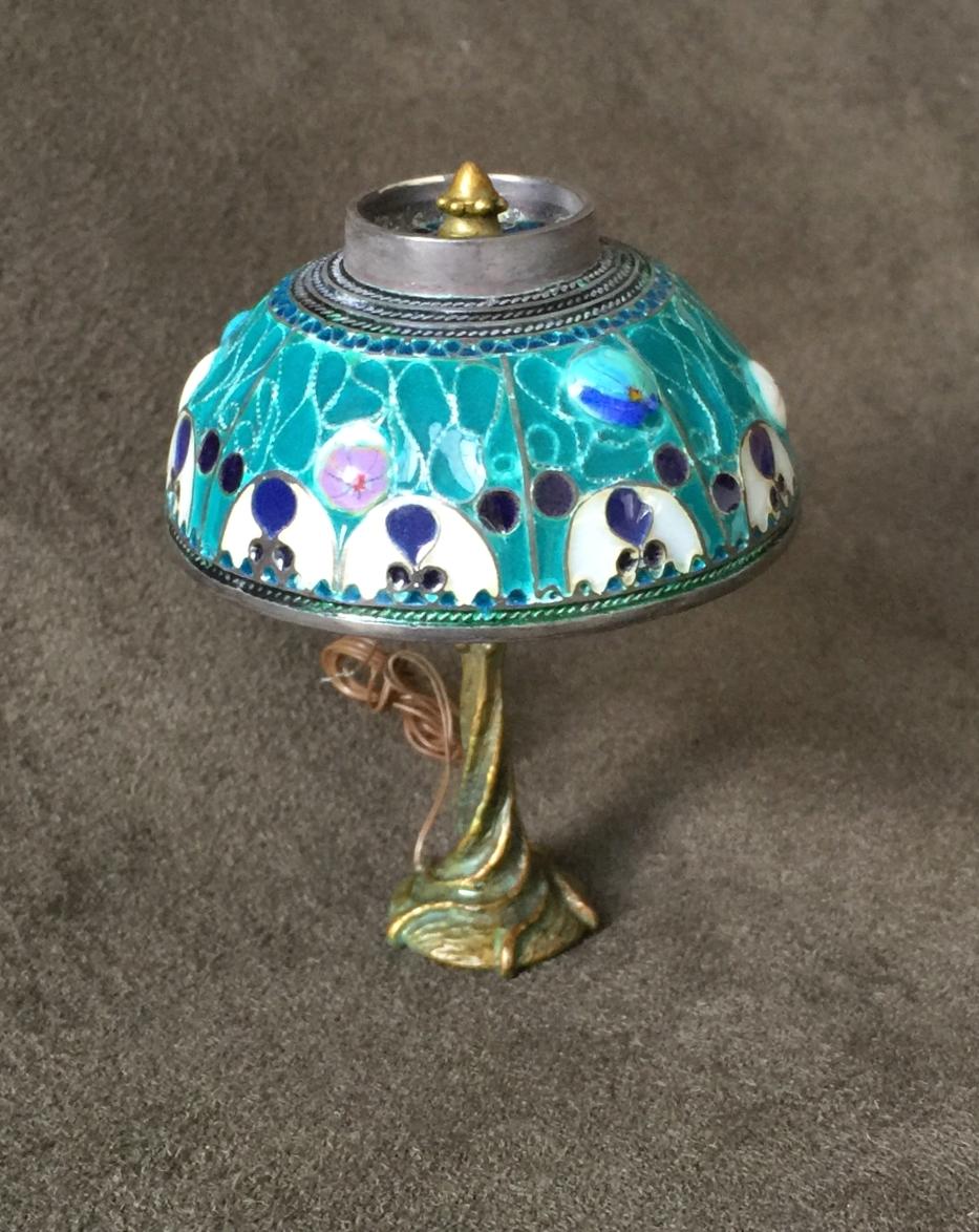 Dec Lamp with Millefiori