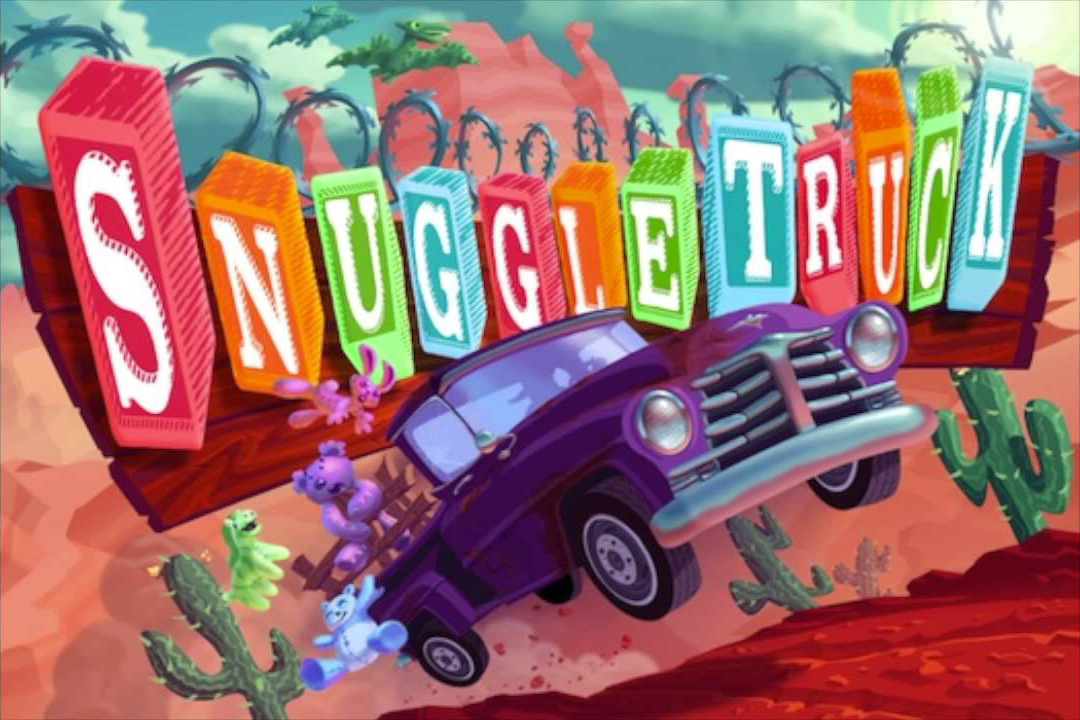 Snuggle Truck - The first game I built under the Owlchemy Labs label. It originally was a satire about how hard it is to get a visa in the USA, but an App Store rejection led to a tongue-in-cheek re-branding as a cuddly kids game. This title made us 6 figures over the years via ads after a lucrative FreeAppADay feature. Fancy that.