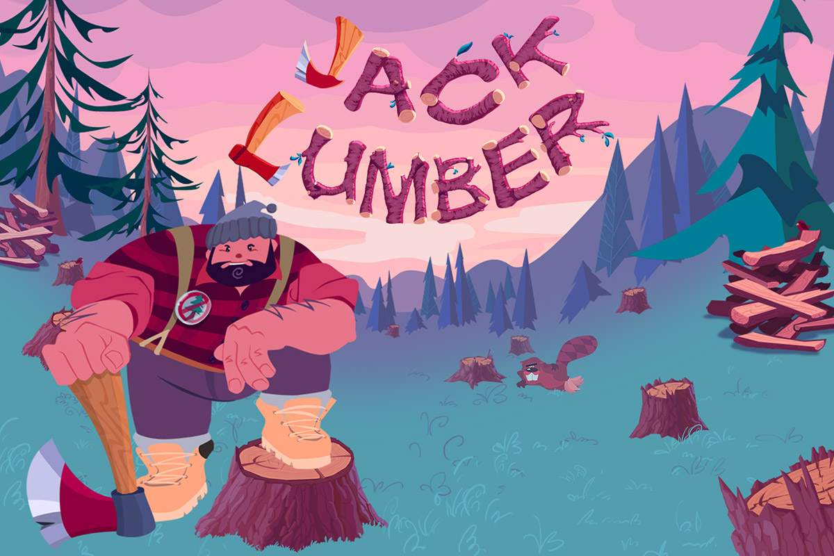 Jack Lumber - Jack Lumber has my favorite high concept for a title of all the games I've built--