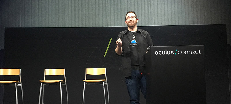 Oculus Connect 3 '16 | San Jose - Failure Workshop: Things that didn't workVideo: https://youtu.be/132V2g2P64o