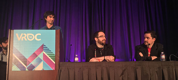 GDC '16 | San Francisco - A Year in Roomscale: Design Lessons from the HTC Vive & BeyondMore Info: https://www.gdcvault.com/play/1023661/A-Year-in...