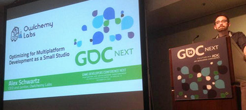 GDC Next '14 | Los Angeles - Optimizing for Multiplatform Development as a Small StudioVideo: http://www.gdcvault.com/play/1021498/Optimizing...
