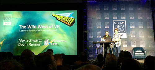 Steam Dev Days '14 | Seattle - Wild West of VR – Discovering the Rules of Oculus Rift DevelopmentVideo: https://www.youtube.com/watch?v=DqZZKi4UHuo&l...