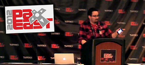 PAX East '12 | Boston - The Indie Rant: Indie Devs Gone WildMore Info: https://guidebook.com/guide/1782/event/207721/