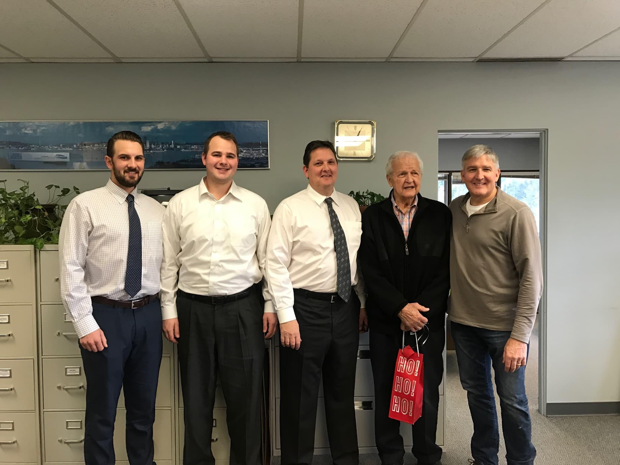 The Haehl Sales Men - Russ Haehl Sr., Russ Haehl Jr., David Haehl, Nolan Haehl, Seth Haehl