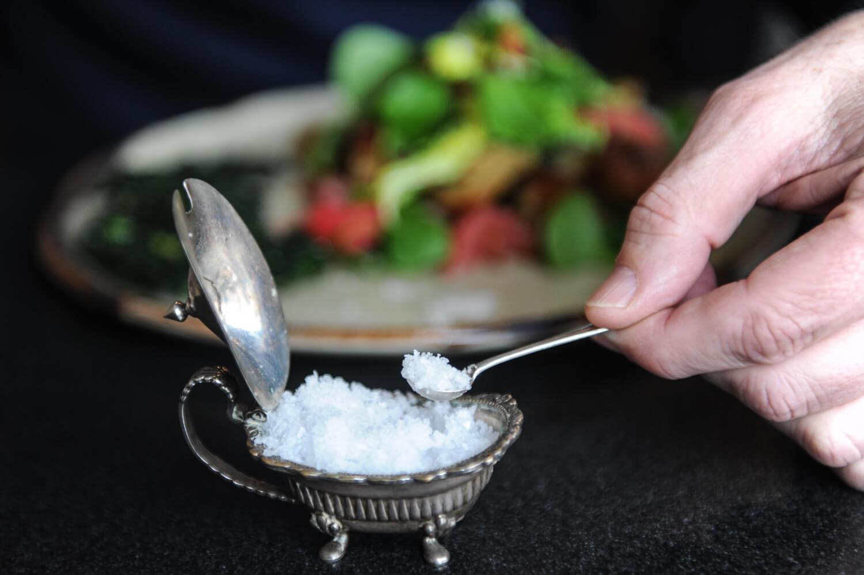 Pure Tasmanian sea salt by La Saliere