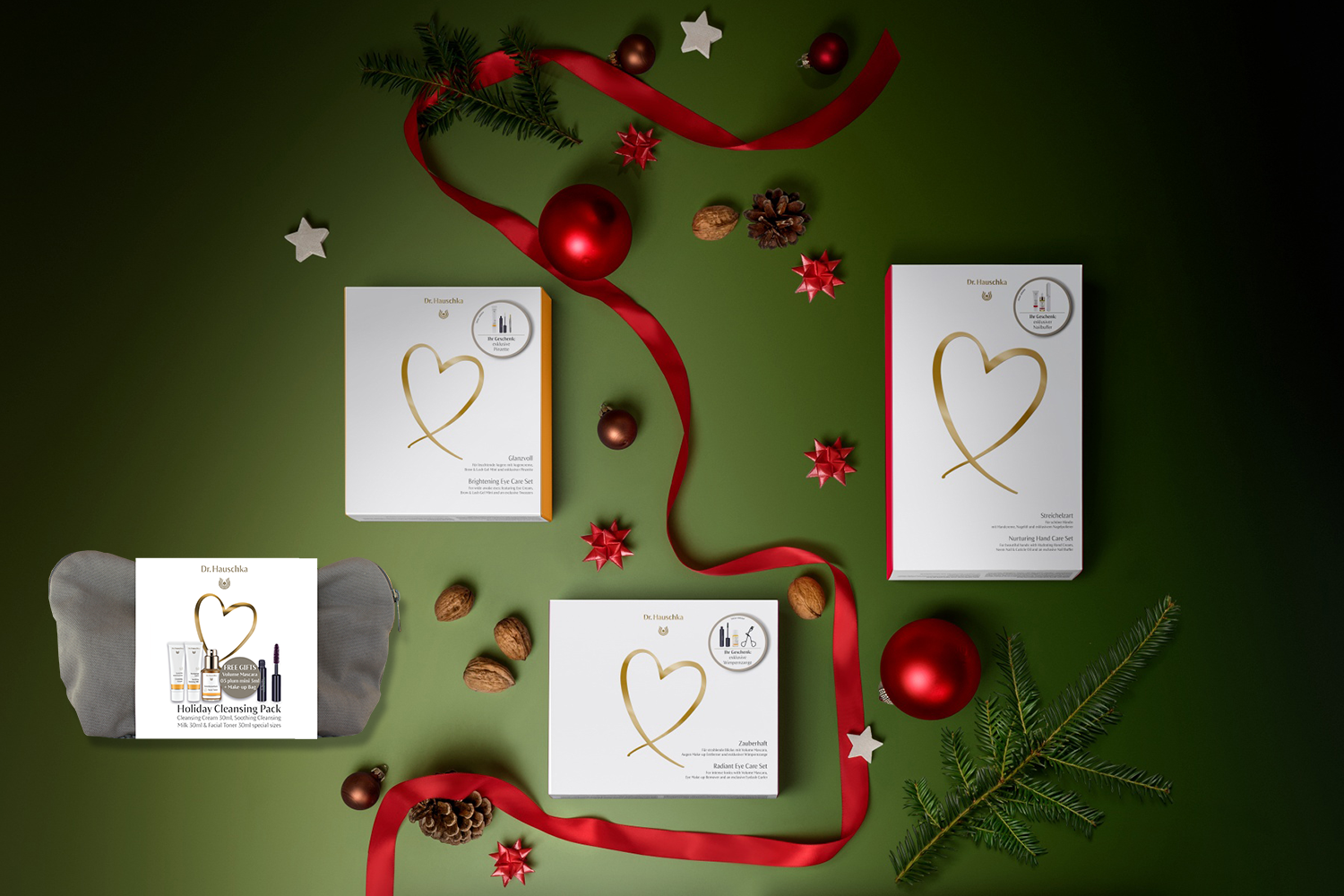 Dr. Hauschka Christmas packs now available - Christmas Packs starting from $55