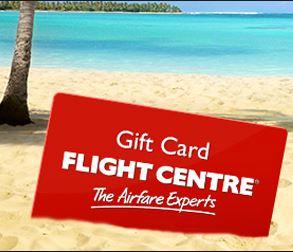 Flight Centre gift card.JPG