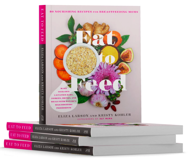 Oat Mama - Lactation Cookbook. Honestly - it never occurred to me to start cooking with foods that promoted healthy lactation until this book dropped. Peanut Butter Power Popcorn? Lactation Rice Krispy Treats? Butternut Squash Mac N Cheese? All recipes you'll find in this book and all will help your supply. SO yummy.