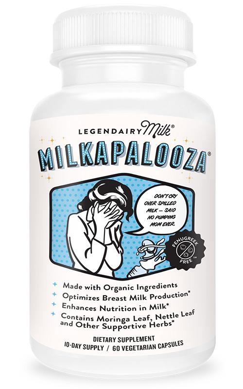 Legendairy Milk - Lactation Blend Capsules. Very similar to the drops I really like, these capsules contain Moringa which is known to act quickly in promoting milk production. I use these for the days when I'm over-scheduled and run down. They work fast and even if my supply has take a dip throughout the day, I'm noticing a healthy increase 24 hours later.