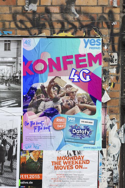 konfem wall