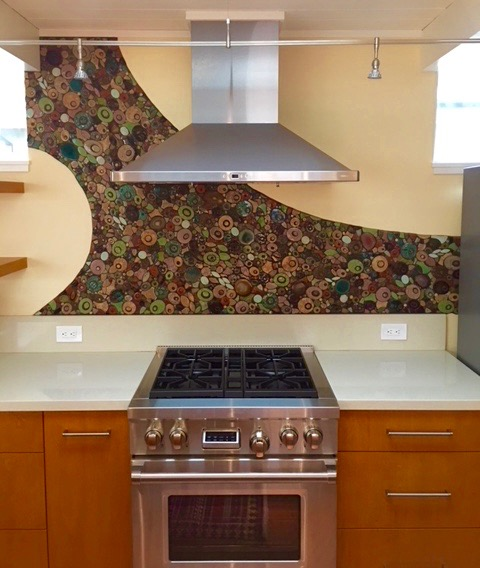San Francisco Home Backsplash