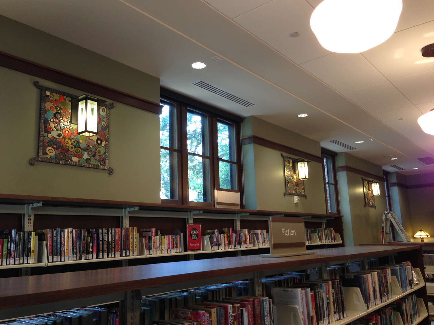 Roosevelt Library Sconces