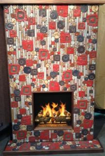 MCM Studio fireplace