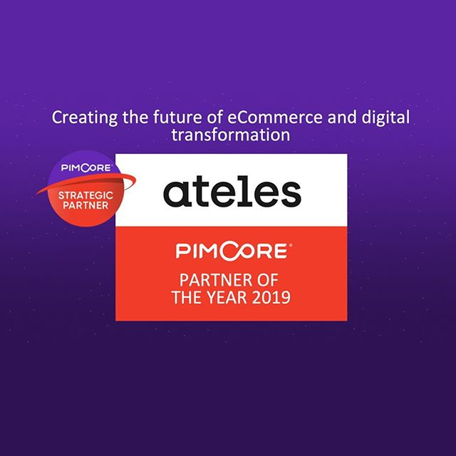 WOW! Ateles is Pimcore Partner of the Year 2019! We are so happy and thankful for this amazing award 🏅This is a result of hard work and we are thrilled to see that we are appreciated by Pimcore! 🚀  #weareateles #tech #innovation #creative #ecom #ecommerce #digitaltransformation #pim #pimcore #pimcoreinspire2019 
