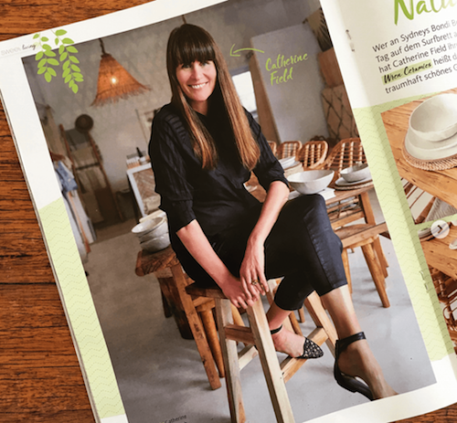 LIVING AND MORE MAGAZINE / - I was delighted have my work at the beautiful Commune Bondi featured in the German Living and More magazine. Take a look…(Photo credits to Camille Nuttall and It's a Bondi Life)