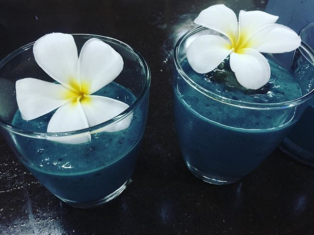 The Egyptian Goddess smoothie🦋💎🦋deeply nourishing and elevating, with @e3live #consciousliving #enlightnutrition #e3live #mucusfree #livingmucusfree #detoxyourbody #detoxify#thrive#luxuryretreat #bali