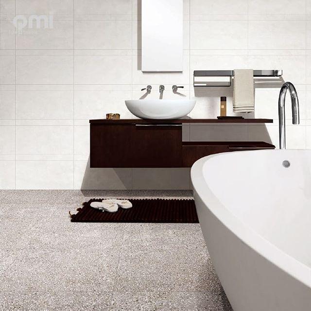 Terrazzo look tiles have made a resurgence in the design industry.  #qmidunsborough #terrazzofloor #terrazzo #porcelaintiles #porcelain #bathroom #bathroominspo #dunsborough #busselton #buildingidea #renovating