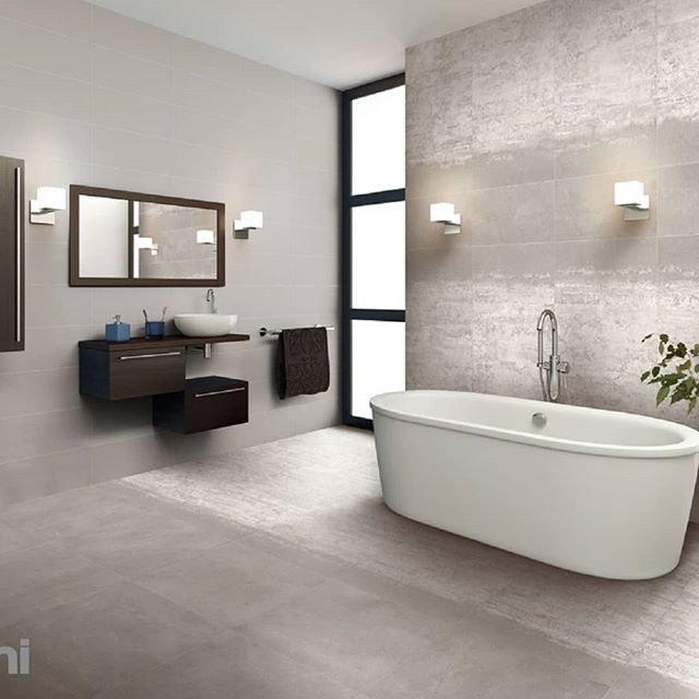 Set the scene with a feature wall in these 300x600 or 600x600 porcelain tiles in various shades to suit all designs. #porcelain #greytones #swbusiness#bathroom #bathroomdesign#buildingideas #featurewall#featuretile #busselton #yallingup#margaretriver #cowaramup#renovationideas #interiordesign #inspirational