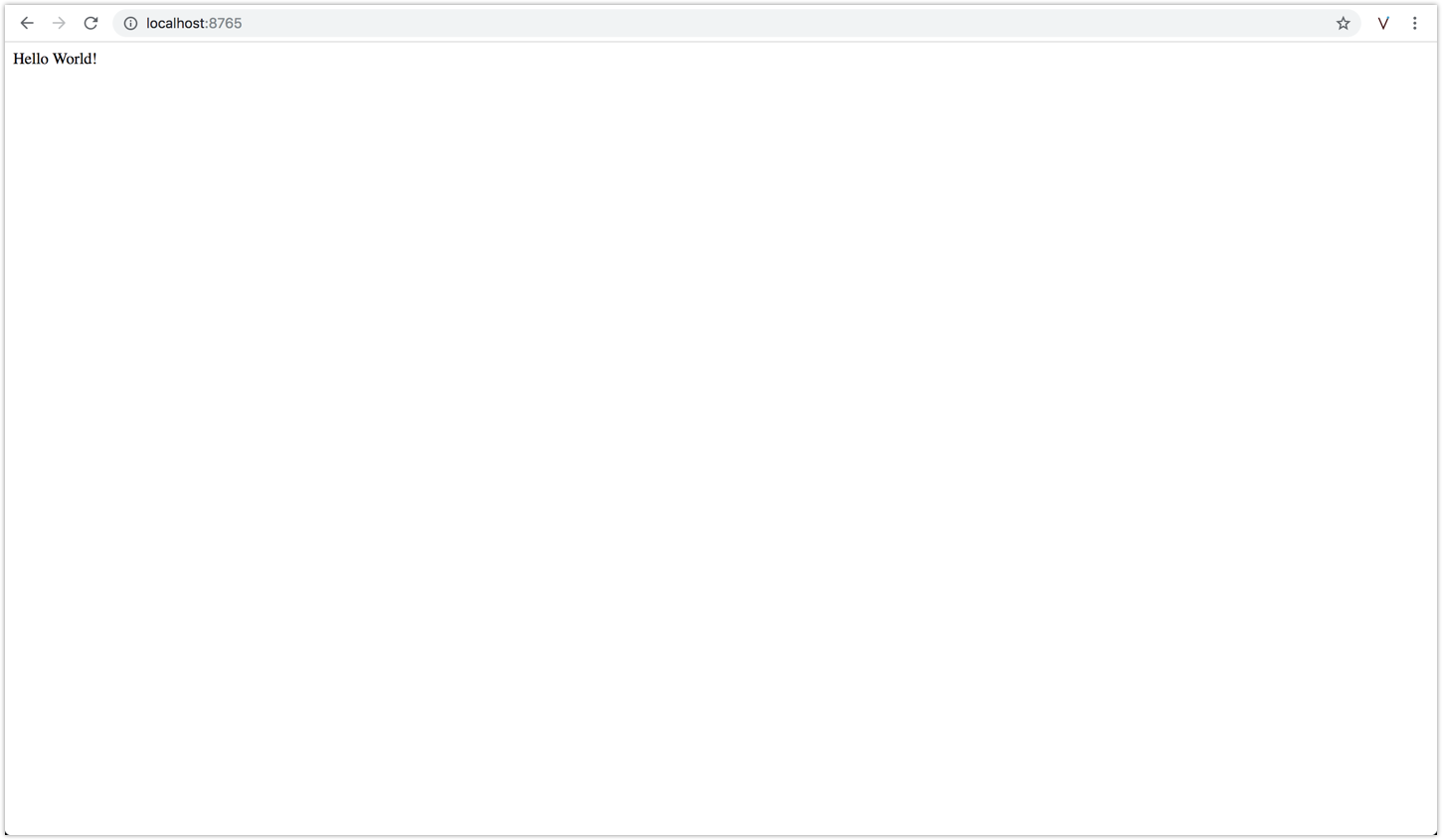 Hello World! in Browser
