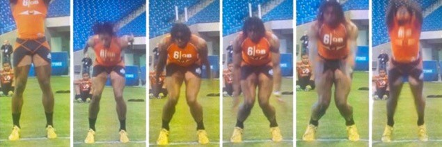 Image 1 . Robert Griffin III at the NFL Combine (Source: https://www.stack.com/t/acl-injury )