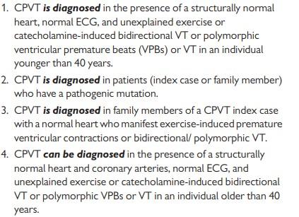 Figure 5 . CPVT Criteria (Silvia Priori, 2013)