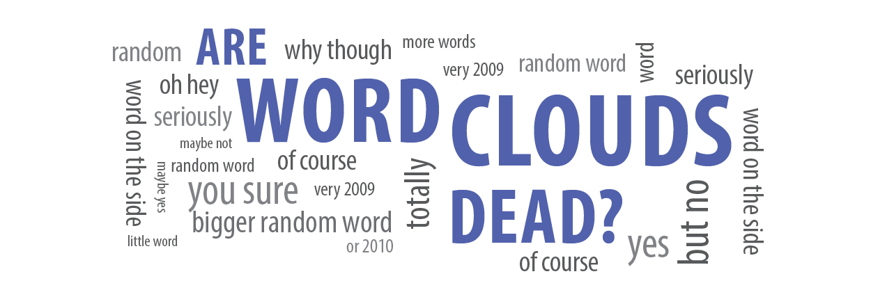 Are word clouds dead?
