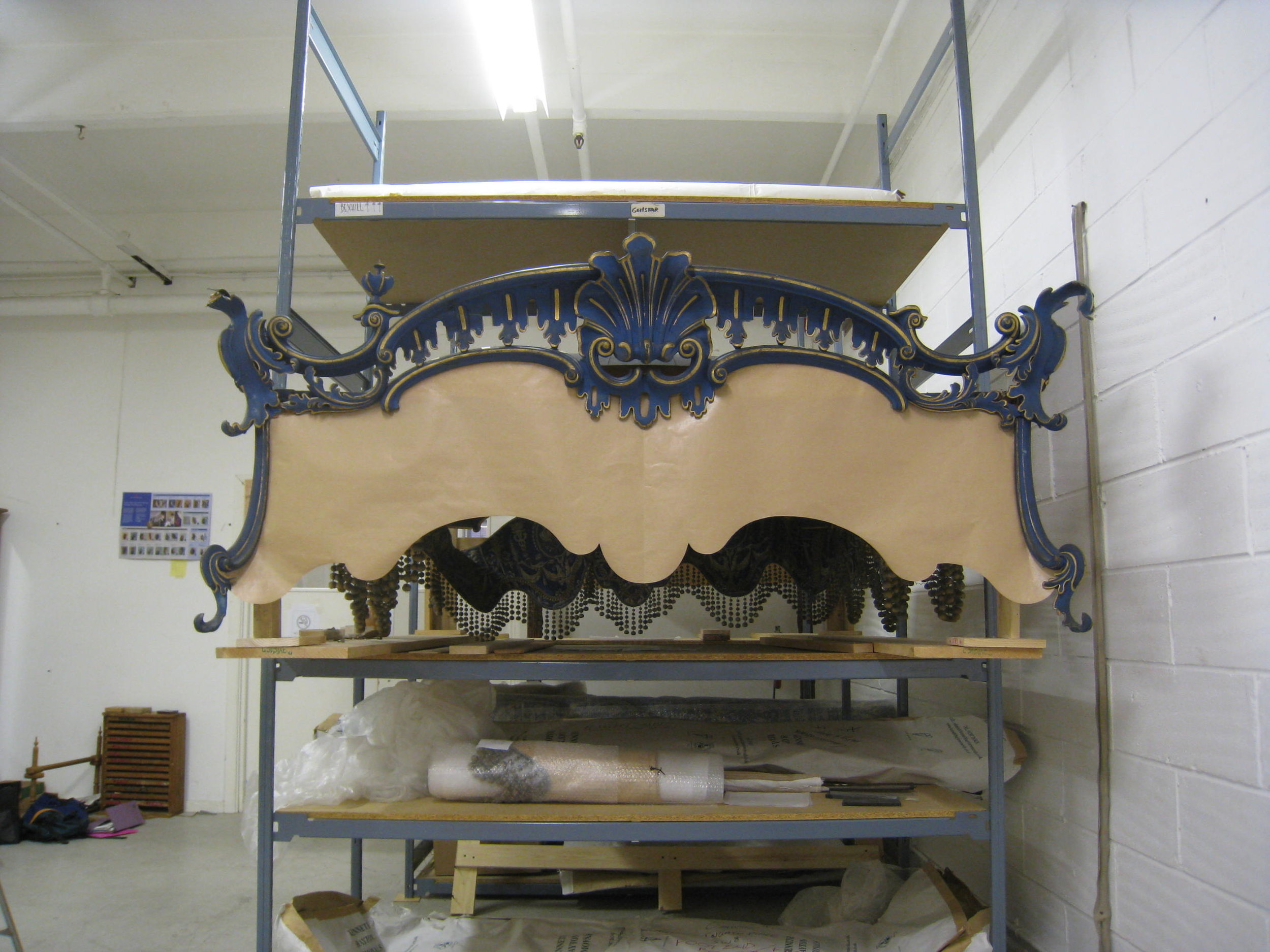 Carvers & Gilders - Dumfries House Bed