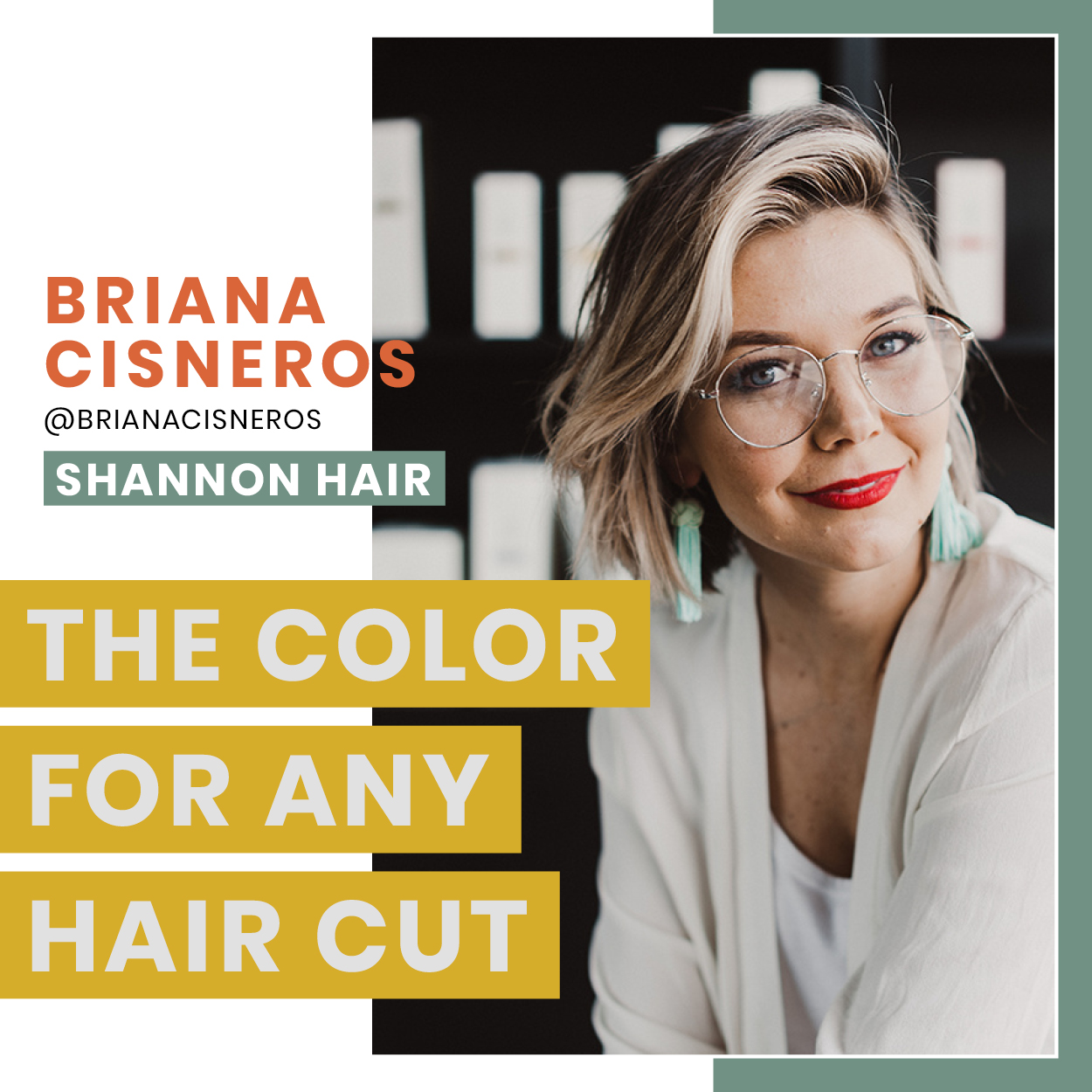 SOLD OUT - Improve your foiling techniques and understanding of color placement within a foil pattern while you learn a unique way to section the hair that creates a color that can be utilized on any cut.More about Briana