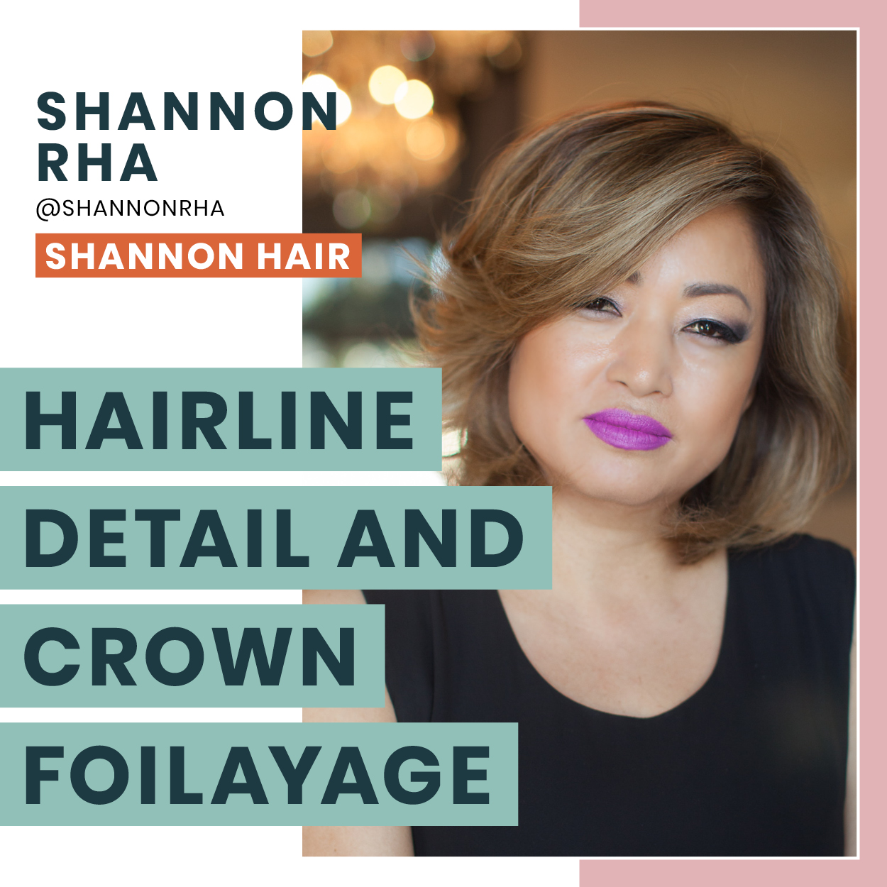 "SOLD OUT - Want to achieve the softest version of the rooty blend/organic look? This session is for you! Learn hairline coloring ""do's"" and ""don'ts"", and new techniques to combine different ways of creating this beautiful style.More about Shannon"