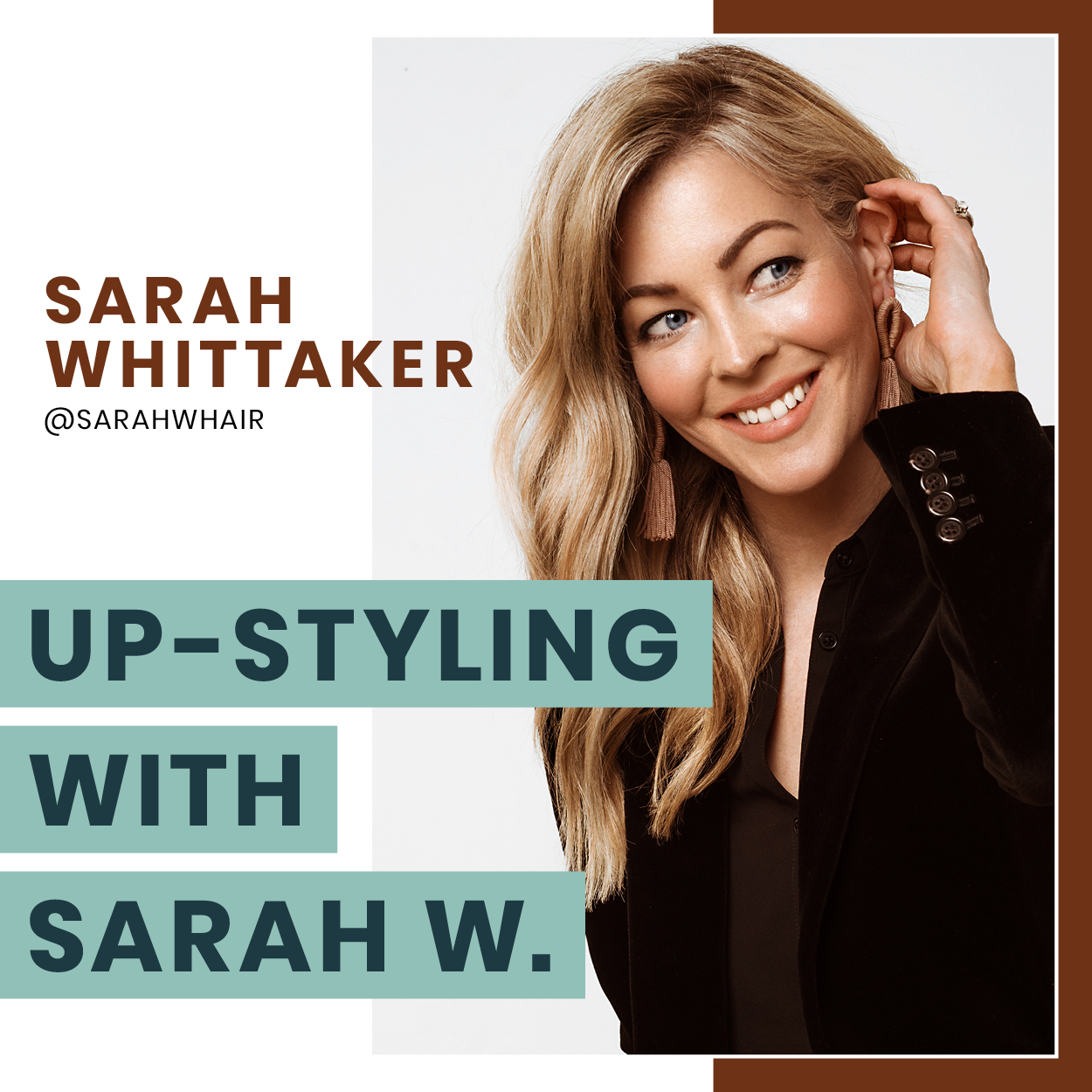 - Sarah demonstrates her secrets for creating unique up-styles that you will quickly and easily be able to replicate for your clients. Discover how to create a solid base that will last all day, how to master the whimsical, textured look, along with finishing and detailing techniques to make your formal styles stand out.More about Sarah
