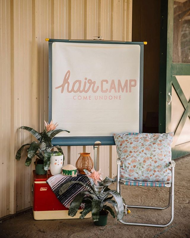 That one time at Hair Camp.... tell us about some of your favorite moments!! #comeundone