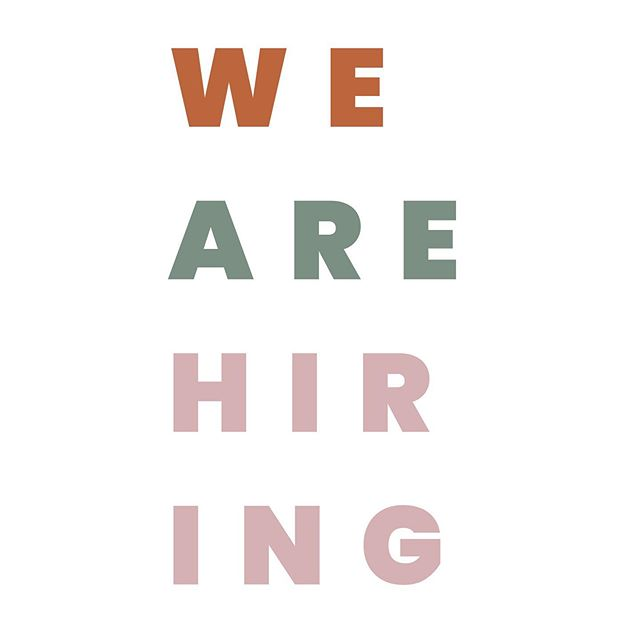 Calling all social media mavens! WE ARE HIRING! 🥳 We are looking for a highly-motivated + Instagram savvy hair and beauty enthusiast 😏  Scroll through for more details - we've got a full job description posted through the link in our profile. If this isn't you, but you know just the person for the job - feel free to share with a friend!
