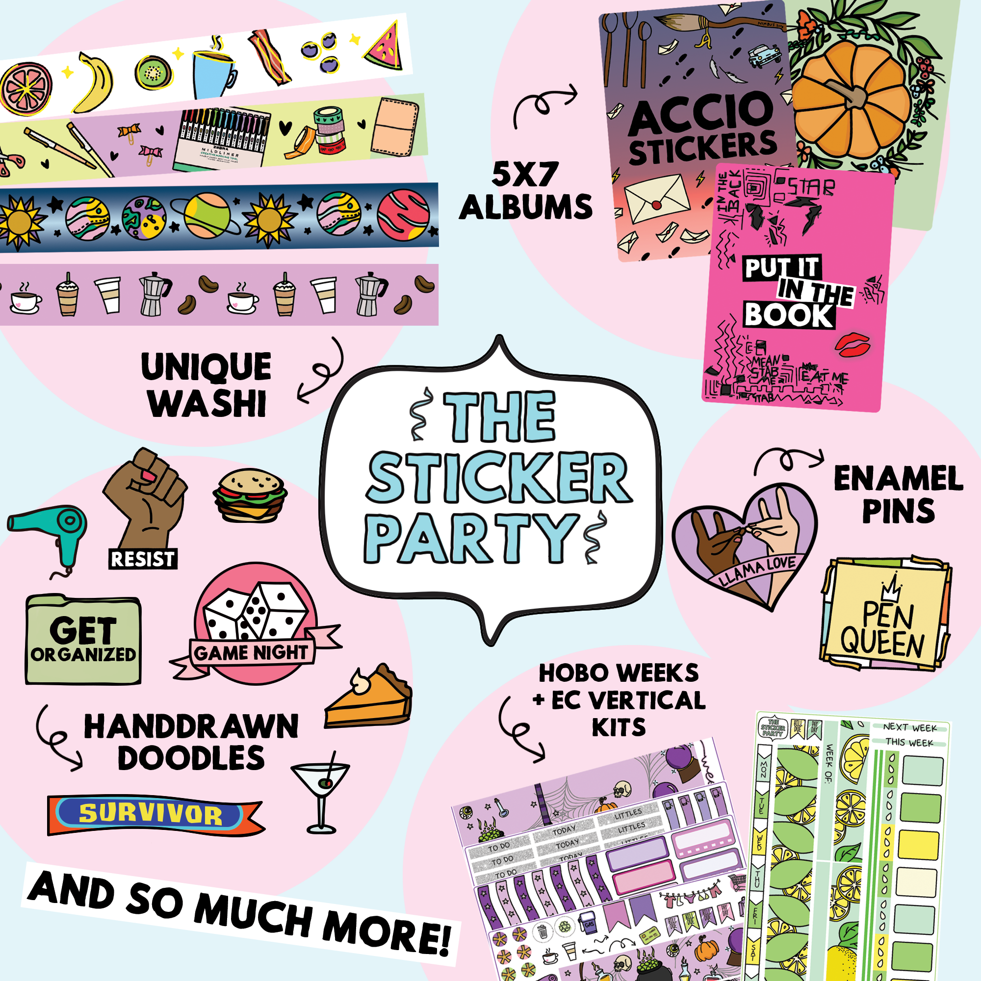 The Sticker Party
