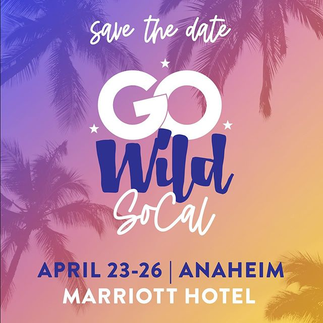 Save the date, swipe for more info, and stay 👀 for Pre-sale, Shop Summit details, and MORE!   #GOWild2020 #GOCal #planaheim #llamawood