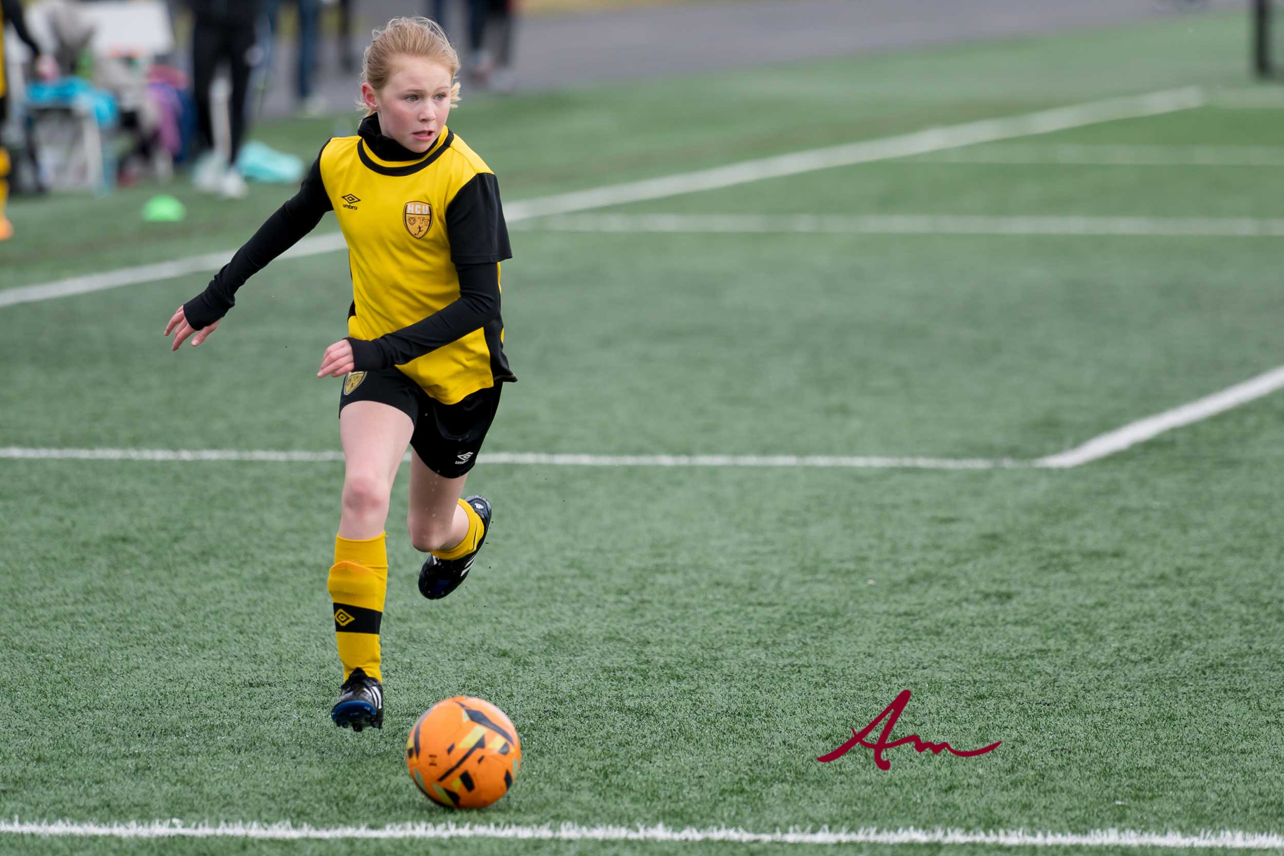 We saw this determination the very first time she stepped on a soccer field when she was 4.