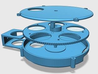 Manual Filter Wheel