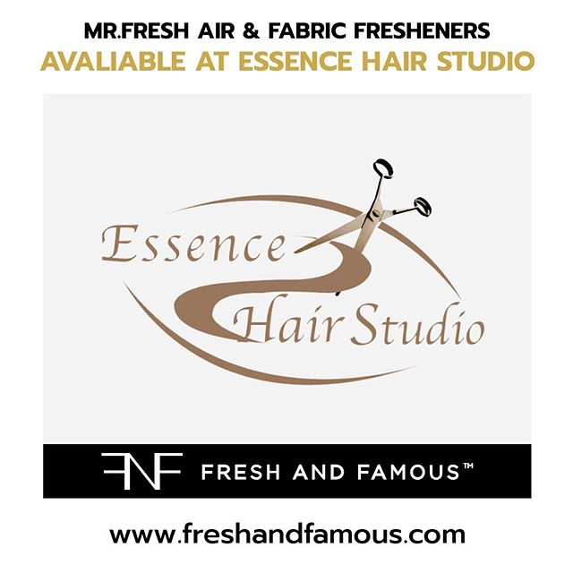 🚨 Get A Fresh Haircut 😃 & Buy Your Mr.Fresh Air Fresheners! Now Available At Essence Hair Studio!!!🚨@essencehairajax 48 Hardwood Ave, Ajax, ON L1S 2H6, ON, CANADA🚨 _ Hours of operation:  Monday9a.m.–7p.m. Tuesday9a.m.–7p.m Wednesday 9a.m.–7p.m. Thursday9a.m.–7:45p.m. Friday9a.m.–9p.m. Saturday8a.m.–6p.m. Sunday10a.m.–4p.m. _ #MrFreshAirFresheners #MrFresh®️ #FreshAndFamous
