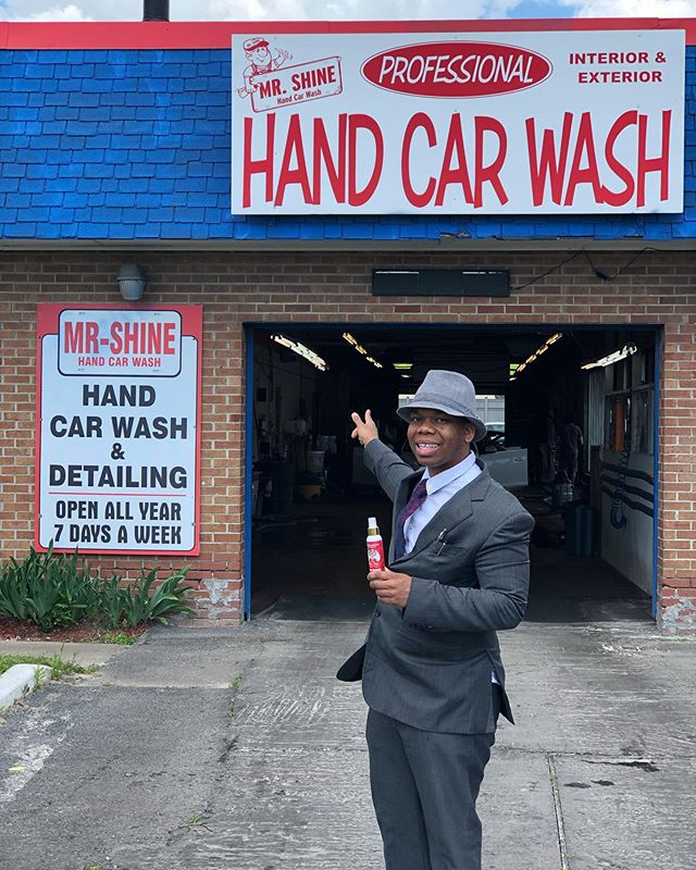 _ When you got a vision nothing can get in the way of it! Keep It Fresh!😎 Buy your Mr.Fresh®️Air & Fabric Fresheners Now at Mr.Shine Carwash at 158 hunt street Ajax, Ontario, Canada.🇨🇦 _ Wholesale inquiries please email me at mrfresh@freshandfamous.com  thank you!✨ _ #FreshAndFamous #FNF #MrFresh®️