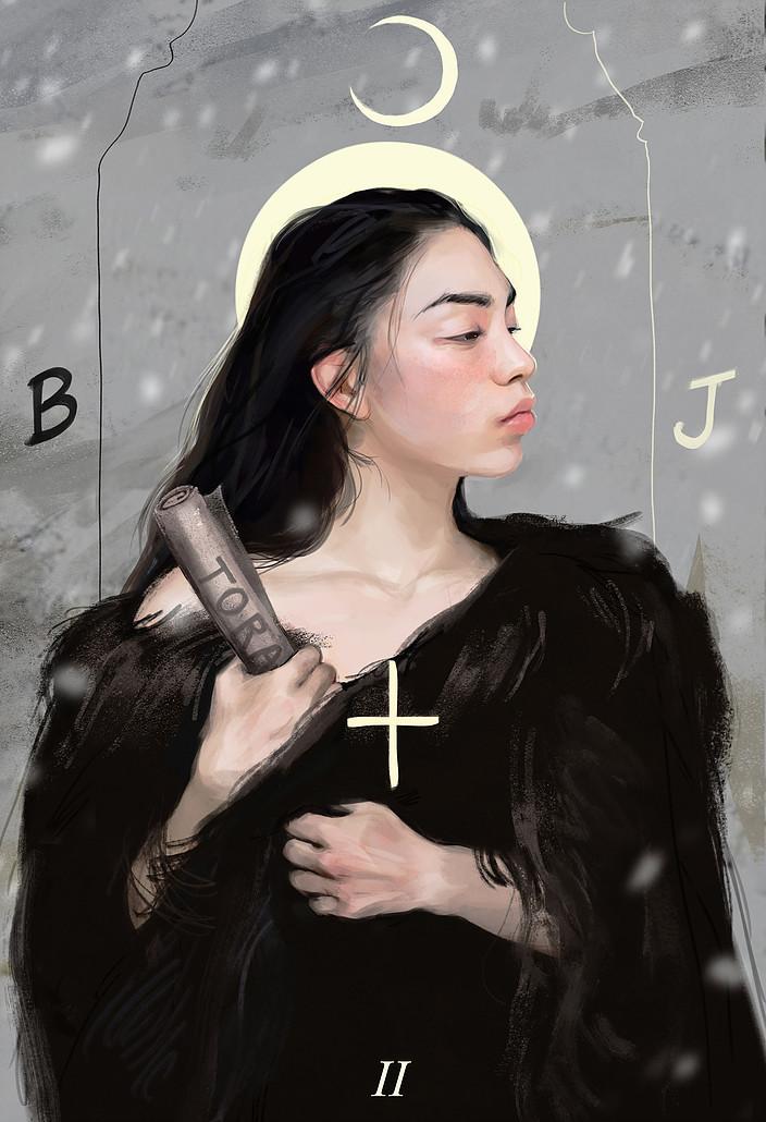 2: The High Priestess