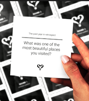 Get to know each other. - Mindfulness card game to have more meaningful and insightful conversations with loved ones in offline settings - perfect for groups of all ages
