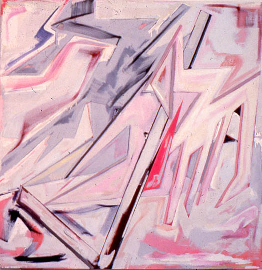 """More Than Just Another Face, 72' x72"""", 1983"""