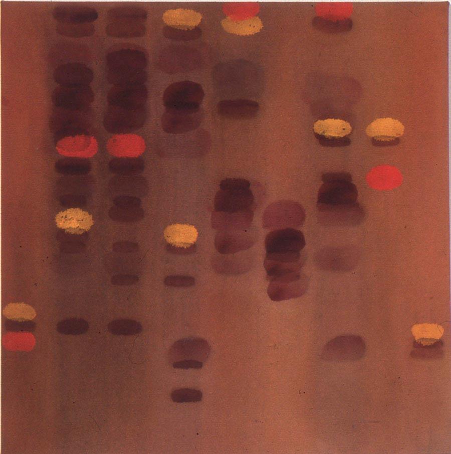 "Untitled, 28"" x 28"", 1989"