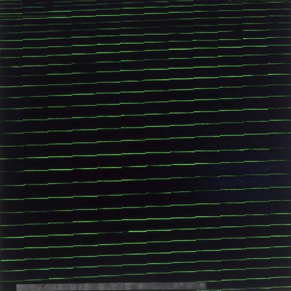 """Live Wire Voodoo, 72"""" x 72"""", 1990-1"""
