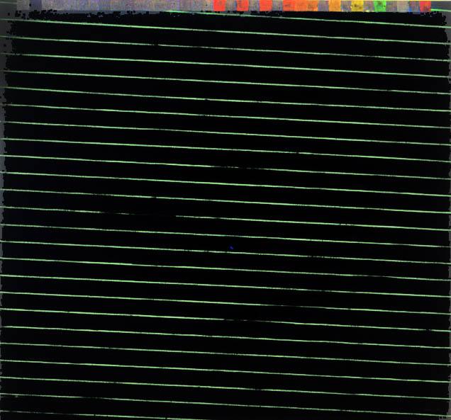 """Optic Ribbon-Modem, 75"""" x 81"""", 1988"""