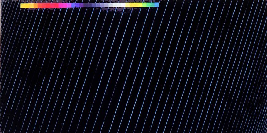 """Neo-Tech Deck, 72 x 120"""", 1988-9"""