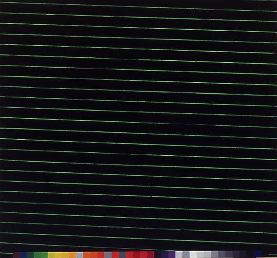 """E.M.P.-Shock, 76"""" x 80 1/2"""", 1989"""